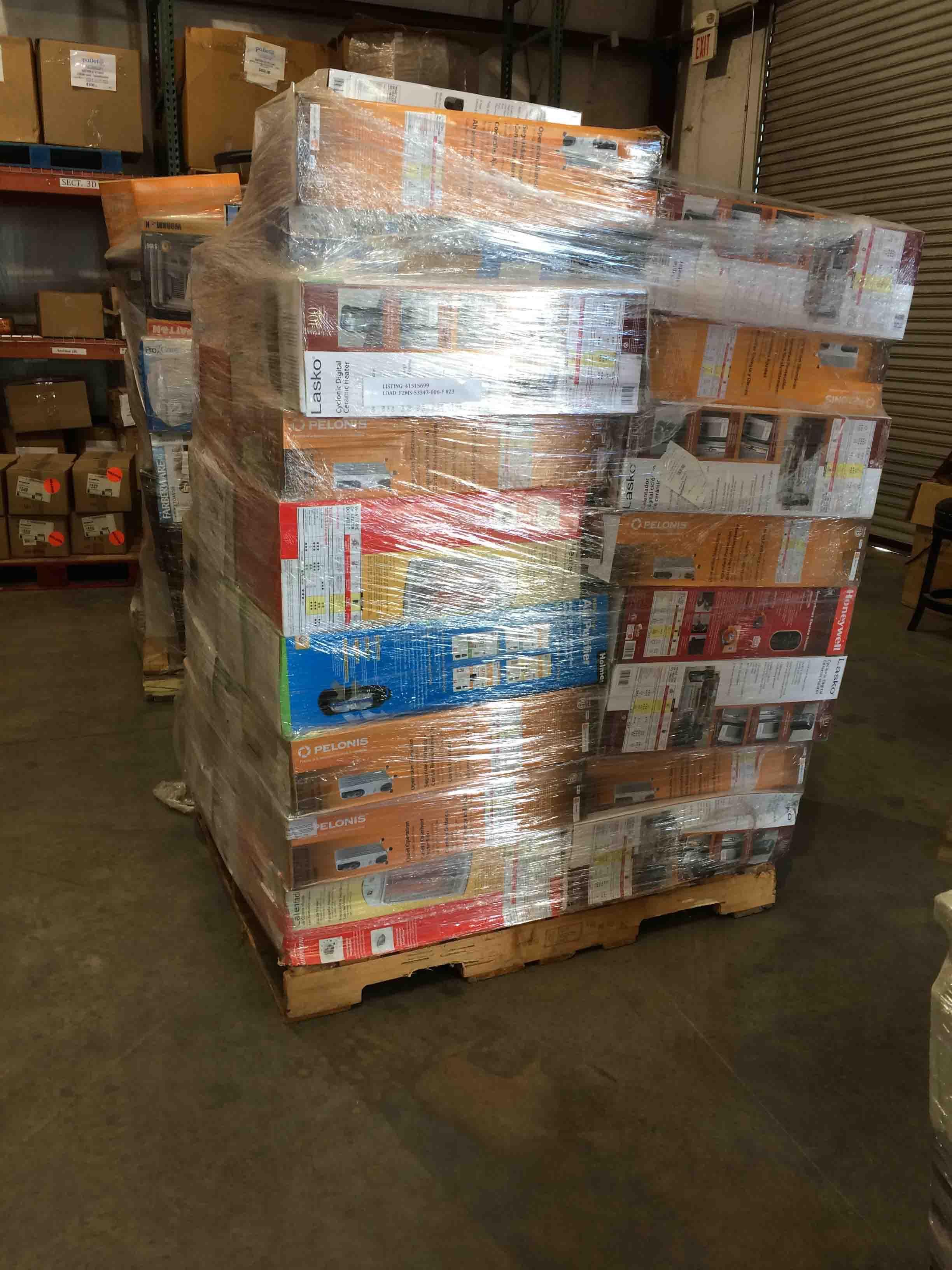 Pallet of General Merchandise Liquidation