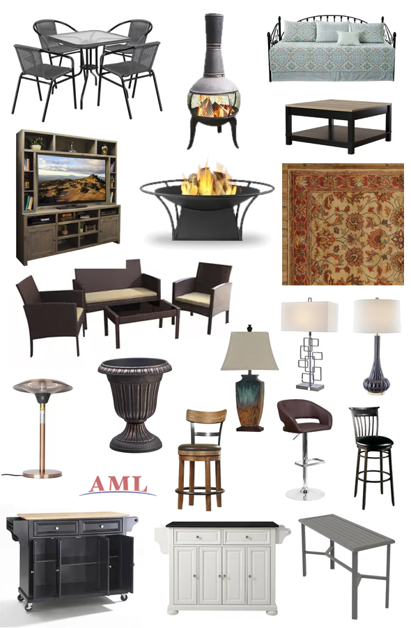 Furniture by the truckload sample collage Below wholesale 2