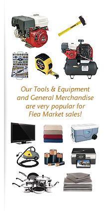 Liquidation Merchandise for Flea Market Sales